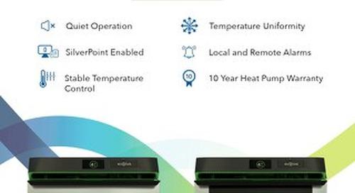 Medical-Grade Undercounter Refrigerator Quick Start Guide
