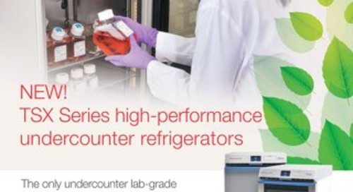 TSX505 Series Undercounter Brochure