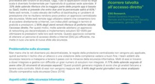 Cisco Umbrella - pacchetto Secure Internet Gateway (SIG) Essentials