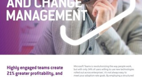 Microsoft Teams Adoption and Change Management 2020