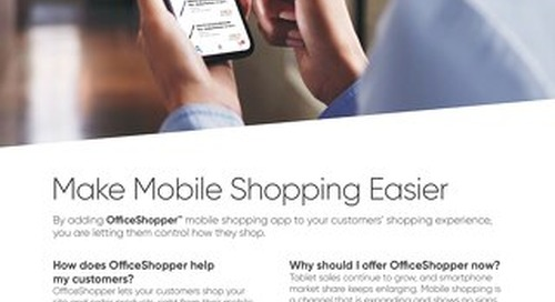 Make Shopping Easier with the OfficeShopper App