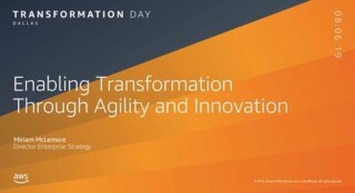 Keynote__AWS Transformation Day Stockholm 2019