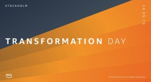 Enterprise IT Operating Models with Scania_AWS Transformation Day Stockholm 2019