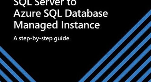 Migrating SQL Server to Azure