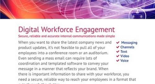 Radisys Engage@Work - Workforce Engagement
