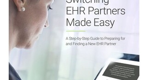 Switching EHR Partners Made Easy