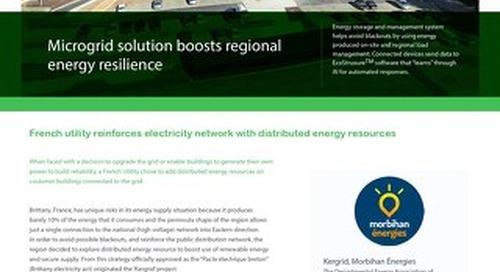 KERGRID: Renforcer la résilience énergétique avec microgrid