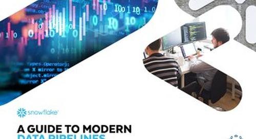 5 Characteristics of a Modern Data Pipeline