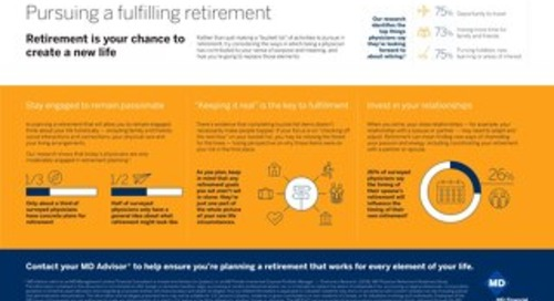 Pursuing a fulfilling retirement
