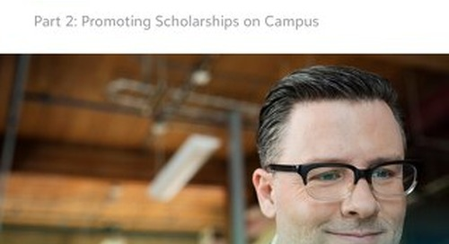 White Paper:  Increasing Scholarship Applications - Part 2
