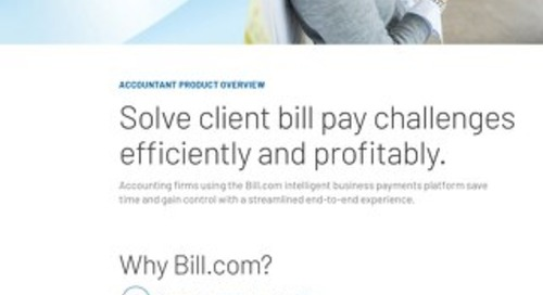 How to position Bill.com w clients
