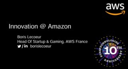 Innovation at Amazon - Euratech10