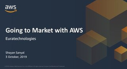 Why Startups Love AWS - Euratech10