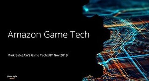 An Introduction to Amazon Game Tech - AWS Loft Munich