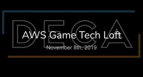 DECA Games Building Cloud Architecture - AWS Loft Munich