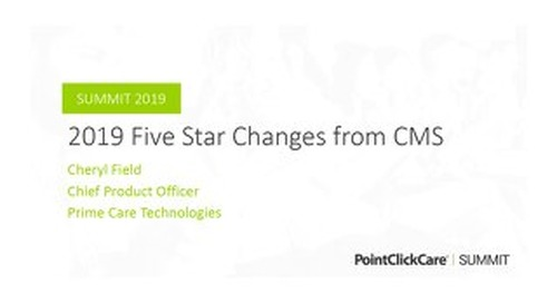 2019 Five Star Changes from CMS