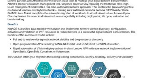 Deliver the promise of NFV & SDN with NetACE from Atrinet
