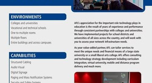 AFL Service Solutions - Higher Education