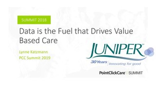 Data is the Fuel that Drives Value Based Care