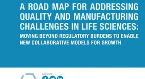 Addressing Quality and Manufacturing Challenges in Life Sciences (LNS)