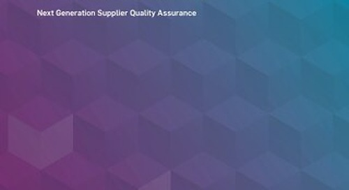 MasterControl Supplier Excellence™ Solution Overview