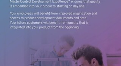 Development Excellence™ Overview Trifold