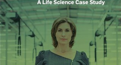 Elegant Manufacturing: A Life Science Case Study