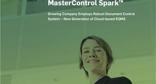 Zarbee's Naturals Taps MasterControl Spark™