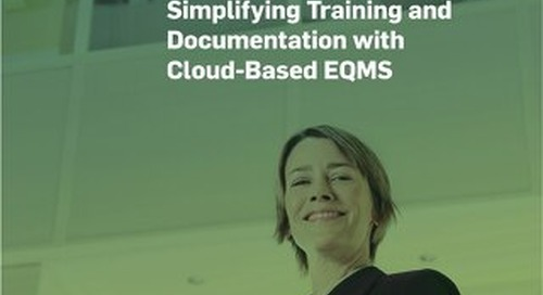 Cell Culture Company (C3): Simplifying Training and Documentation with Cloud- Based EQMS