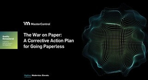 The War on Paper: A Corrective Action Plan for Going Paperless