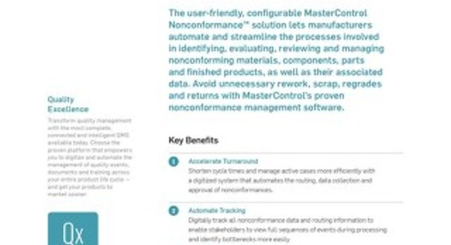 MasterControl Nonconformance™