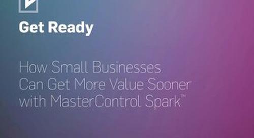 MasterControl Spark Implementation Schedule
