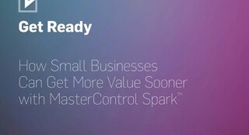 MasterControl Spark Implementation Schedule for Regulated Companies