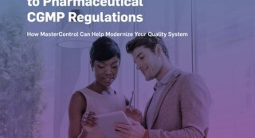 FDA's Quality Systems Approach to Pharmaceutical CGMPs