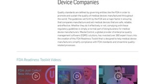 11 Free Resources to Boost Your Medical Device FDA Readiness