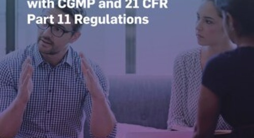 Validating Software Systems to Comply with CGMP and 21 CFR Part 11 Regulations