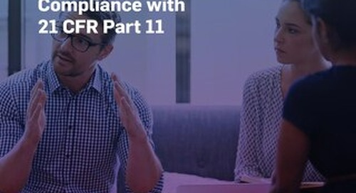 5 Ways MasterControl Ensures System Compliance with 21 CFR Part 11