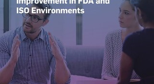 Change Control - Continuous Quality Improvement in FDA and ISO Environments