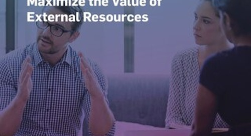 How Software Helps Pharma/Biotech Maximize Value of External Resources
