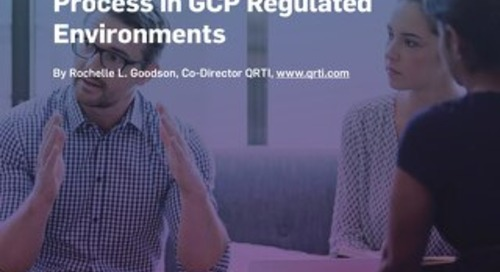 Ensuring the Adequacy of the Informed Consent Process in GCP Regulated Environments
