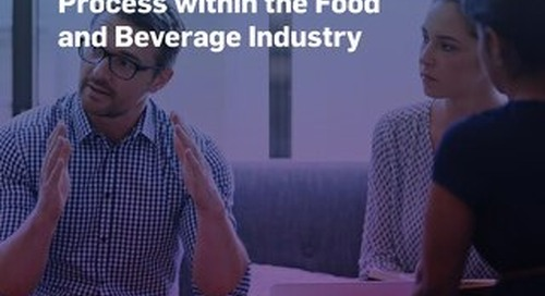 Automating Quality Compliance and Business Process within the Food and Beverage Industry