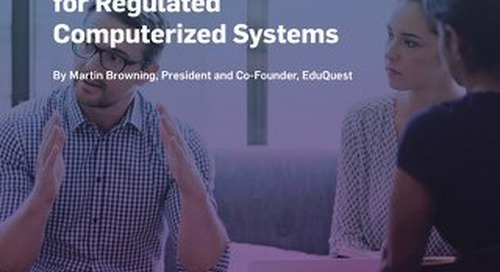 Annex 11: The EU's New Expectations for Regulated Computerized Systems