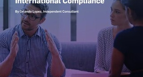 Annex 11 and 21 CFR Part 11: Comparisons for International Compliance