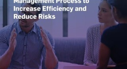 How Regulated Companies Can Improve the Contract Management Process to Increase Efficiency and Reduce Risks