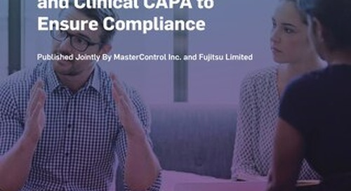 How to Use Risk-Based Monitoring and Clinical CAPA to Ensure Compliance