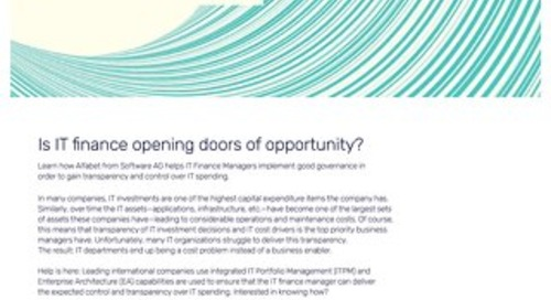 IT Finance Manager: Is IT finance opening doors of opportunity?