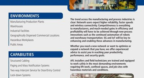 AFL Service Solutions - Industrial & Manufacturing