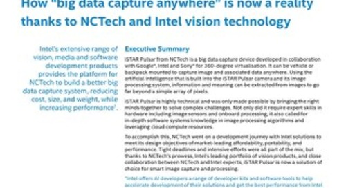 """How """"big data capture anywhere"""" is now a reality thanks to NCTech and Intel vision technology"""