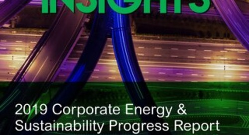 2019 Corporate Energy & Sustainability Progress Report