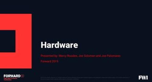Forward 2019 - Hardware - Mercy Rosales_small